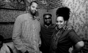 "Musiq Soulchile and Chantae Cann featured on ""It's Your Time"". Single coming soon. Photo by Benjamin Brown."