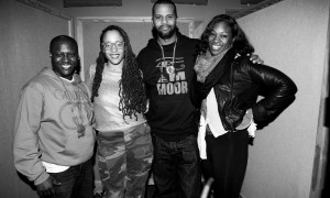 """Get Right"" with Sa-Roc, Sol Messiahh and Muhsinah Safia Photo by Benjamin Brown"