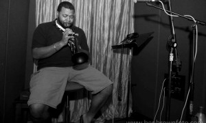 Melvin Jones killin on trumpet #The Heartbeat Photo by Benjamin Brown