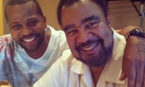 Rest in peace G! You were one of my biggest influences in music since I was 24. What a blessing in my life and so many others. He's with Corine now I'm smiling about that. Another legend has moved on. Rest well buddy I love you. — with George Duke.